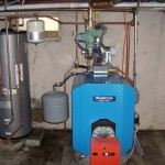 Installation of a Buderus Boiler and Indirect Water Heater.
